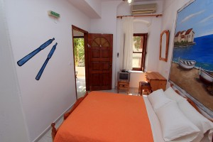 Double Bed_Hotel Symi Center_SymiIsland_Dodecanese